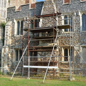 Childress Chimney Services, Historical Restorations, old fireplace chimney being restored